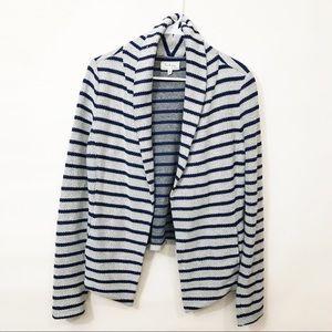 Lou & Grey • Striped Open Cardigan