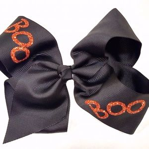 Accessories - Large Boutique Halloween Hair Bow