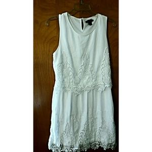 Forever 21 white Lace dress sz small