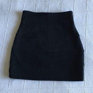 Aritzia Talula Black Bandage Skirt