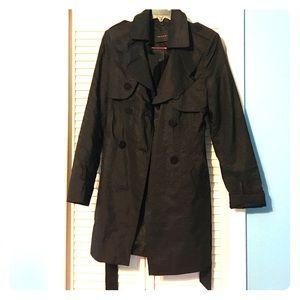 Long Black Trenchcoat (with belt!)