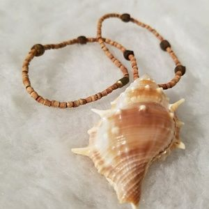 Jewelry - Shell vintage handmade necklace