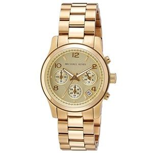 MK Chronograph Gold Tone Womens Watch