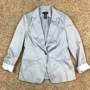 Attention Light Gray Blazer