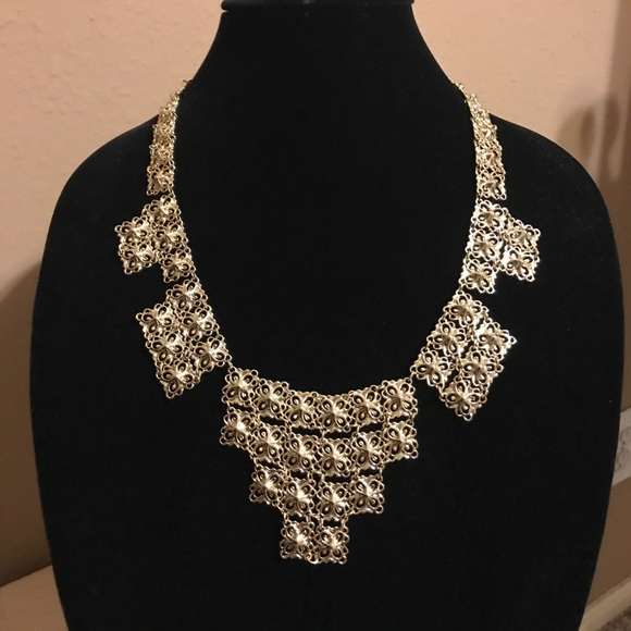 HTF Kendra Scott Byzantine Motif Necklace