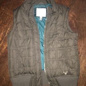 Brown AE Vest