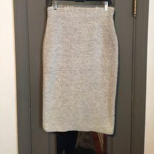 Zara knit pencil skirt