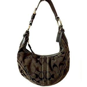 Coach Logo hobo purse