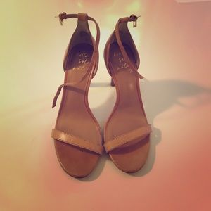 Banana Republic Nude Heeled Sandals