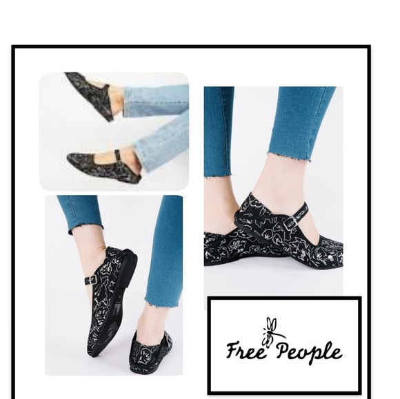 Free People Evie Mary Jane Flat rssxpn3