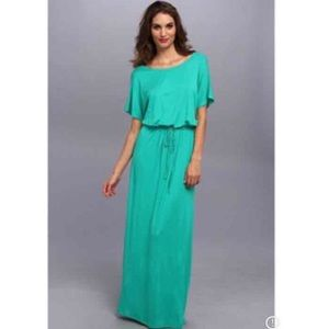 Gabriella Rocha Kelly green maxi dress
