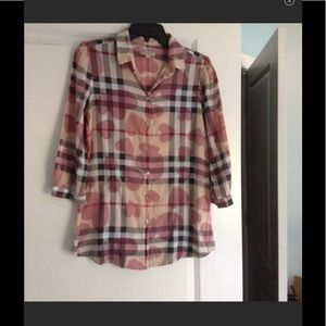 Authentic Burberry shirt size M