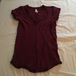 Worn once, free people t shirt Sz S