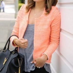 Rory Beca Orange Tweed Blazer