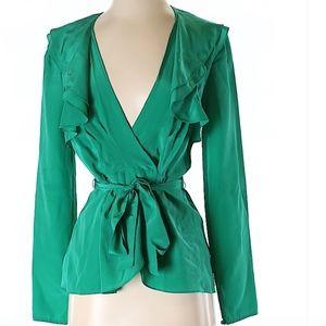 BCBGMAXAZRIA Beautiful Silk Top