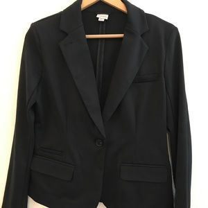 Merona Black one Button Blazer jacket