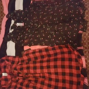 Black and red shirts one checkerboard and cherry🍒