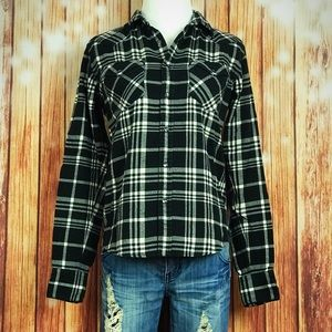 Ralph Lauren Black White Flannel Slim Fit Size 4