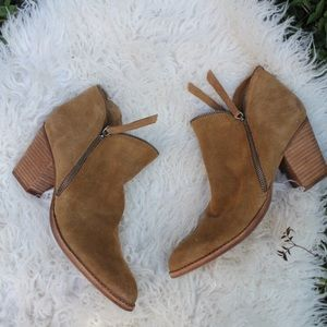 Dolce Vita Suede Booties!