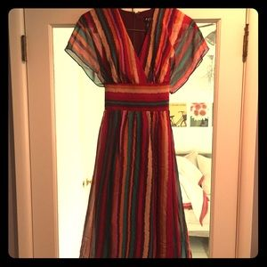 BCBG Paris silk dress
