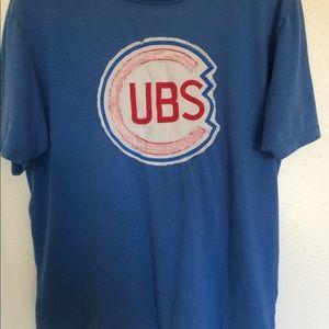 Vintage Chicago Cubs logo t shirt