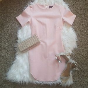 BNWT! HOT MIAMI STYLE BANDAGE BLUSH DRESS