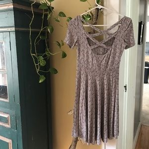 Comfy Gray Summer Dress