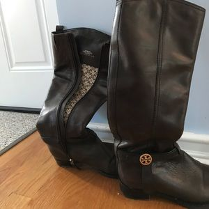 Tory Burch Size 8 Boots (only worn once!)