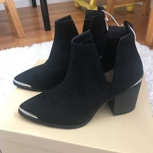 Mossimo black boots, size 7