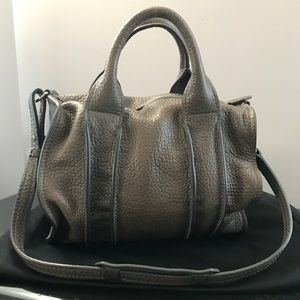Alexander Wang inside-out Rocco in Gunpowder Gray