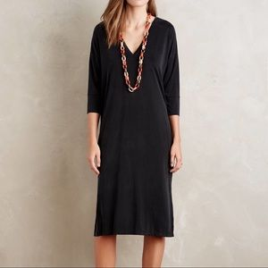 Dolan Left Coast Dera Midi Dress Size SP Black EUC