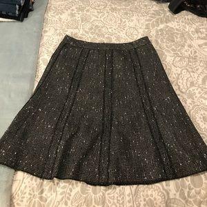 Coldwater Creek Tweed Skirt 10 M