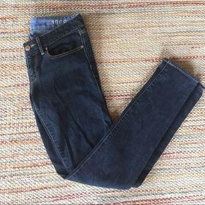 GAP Jeans- size 27/4r- 1969 Always Skinny