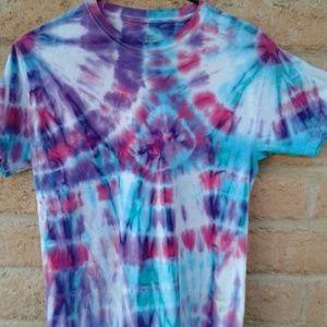 Colorfull tie dye men's or womens
