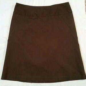 Banana Republic Chocolate Skirt
