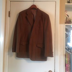 Men's Western dress jacket