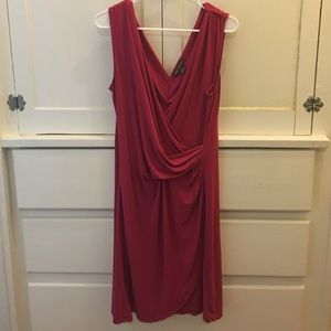 Tommy Bahama Faux Wrap/Draped Dress L