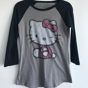 Hello Kitty Baseball Tee