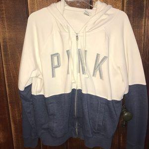 PINK Victoria's Secret Zip Up Sweatshirt