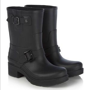 NWOB Hunter biker rain boots