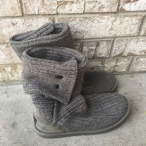 Women's Gray Sweater Uggs