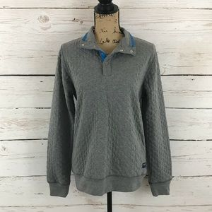 { Old Navy } Gray Quilted Pullover!
