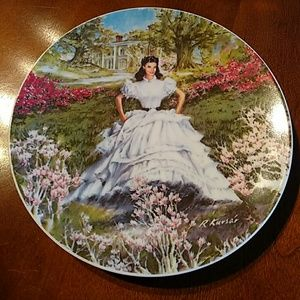 Gone With the Wind Scarlett Decorative Plate