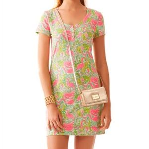 Lilly Pulitzer Britton short sleeved Henley dress