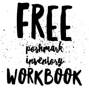 Other - Free Poshmark Inventory Workbook