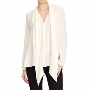 Pins and Needles front tie sheer blouse