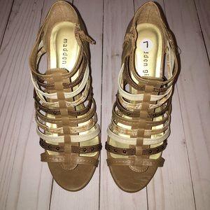 Madden Girl strappy heels Steve Madden 7