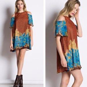 Boutique Lined Floral Dress