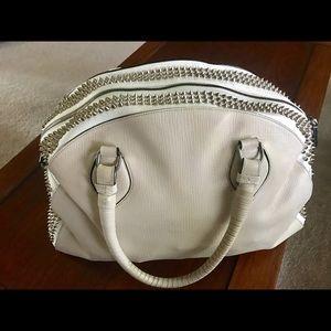Authentic Christian Louboutin studded bowler bag