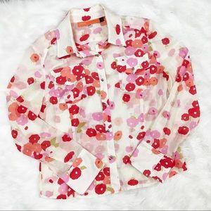 Cynthia Steeffe • Floral Button Down